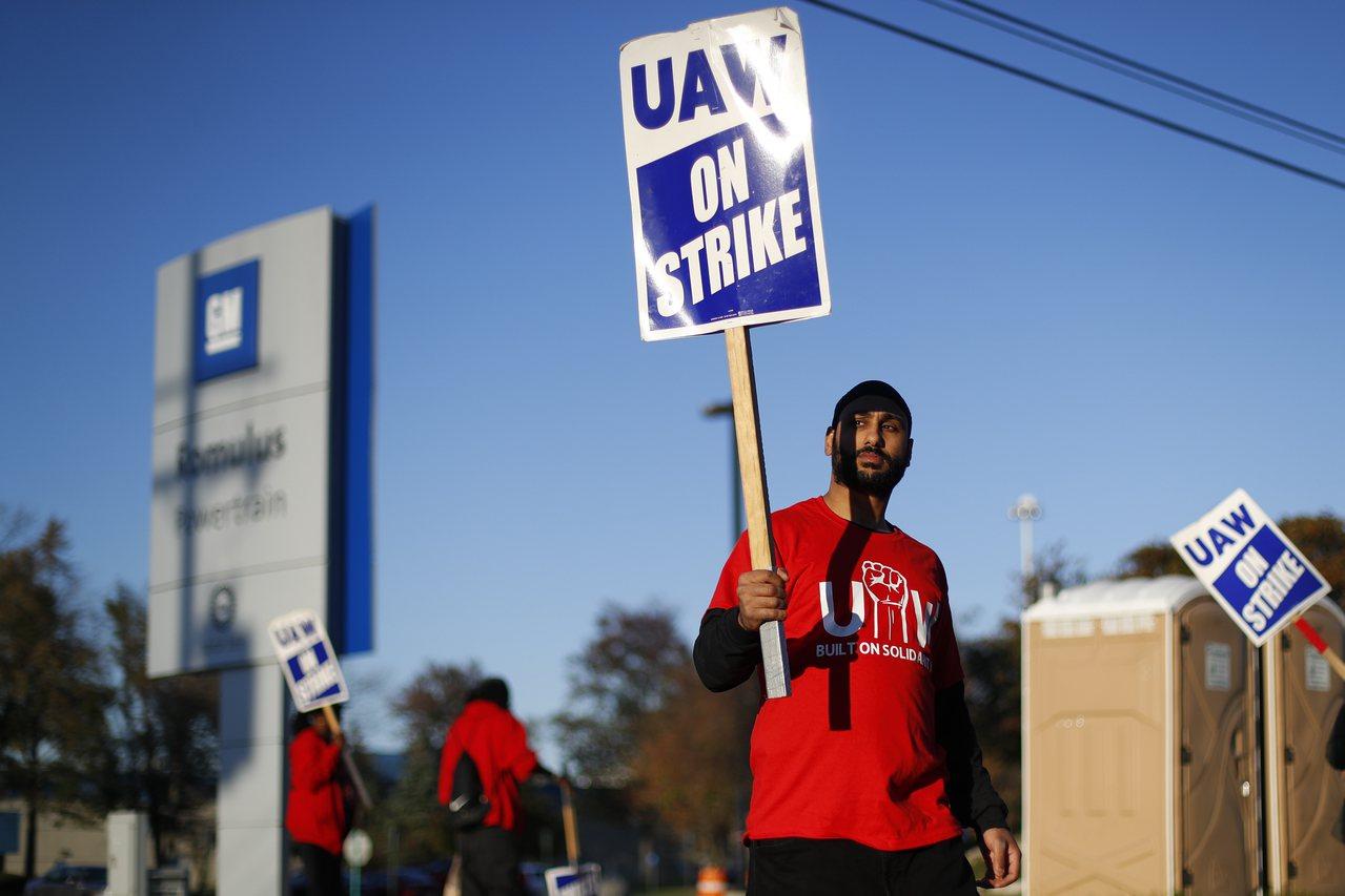 受通用汽車員工罷工影響,美國9月工業生產下滑幅度達五個月來最大。美聯社