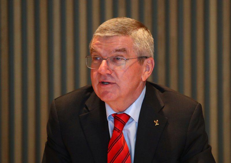 國際奧委會主席巴哈。(路透)