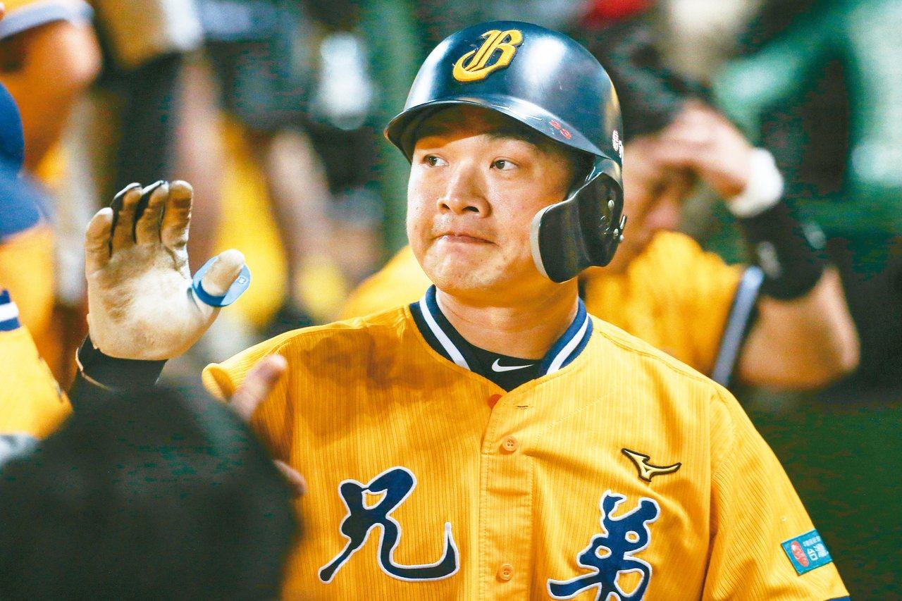 彭政閔正式結束球員生涯,可惜未能拿下總冠軍。 記者黃仲裕/攝影