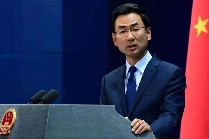 中國政府曾要求NBA開除火箭隊總經理莫雷,中國外交部發言人耿爽今天聲稱並沒有這要...