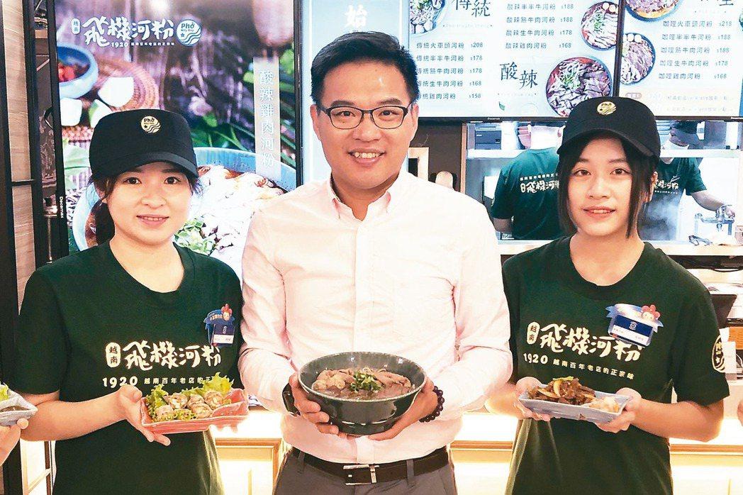 豆府集團董事長吳柏勳宣布啟動非韓元年。 記者宋健生/攝影