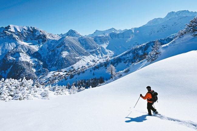 在阿爾卑斯山中心的馬爾邦,冬季為滑雪勝地。 圖/LGT提供