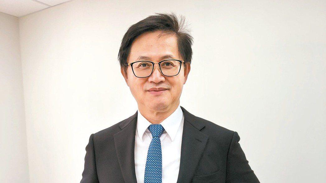 和碩董事長童子賢。 記者蕭君暉/攝影