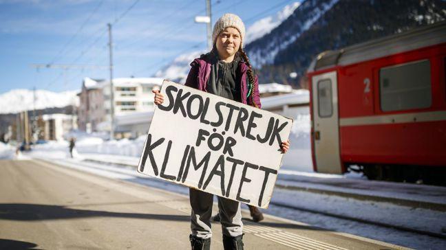 瑞典16歲少女桑柏格(Greta Thunberg)直斥世界領袖,無能解決二氧化...