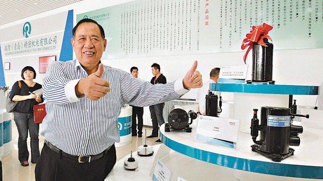 聲寶集團總裁陳盛沺。報系資料照