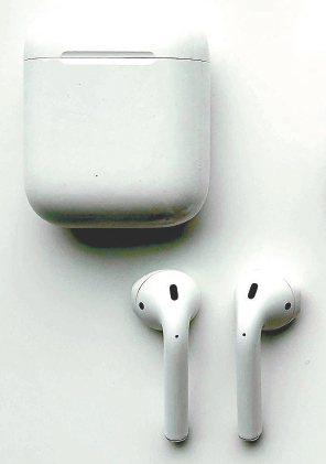 蘋果新款AirPods。 美聯社