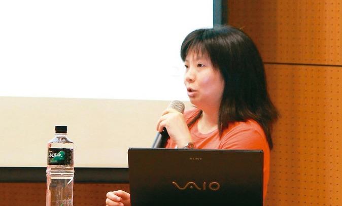 37歲紀佩綾致力於5G相關研究,獲頒吳大猷紀念獎。 圖/台大電信所提供