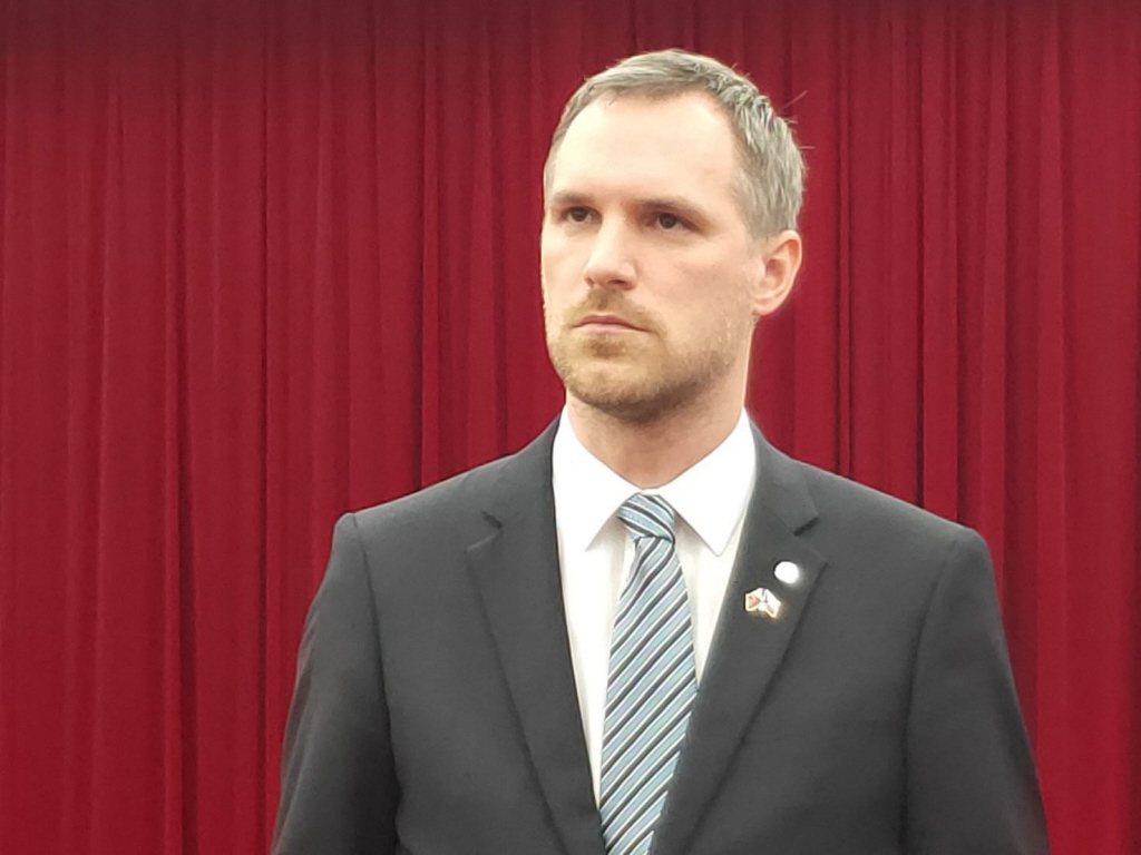 布拉格市長賀瑞普。聯合報系資料照/記者徐偉真攝影