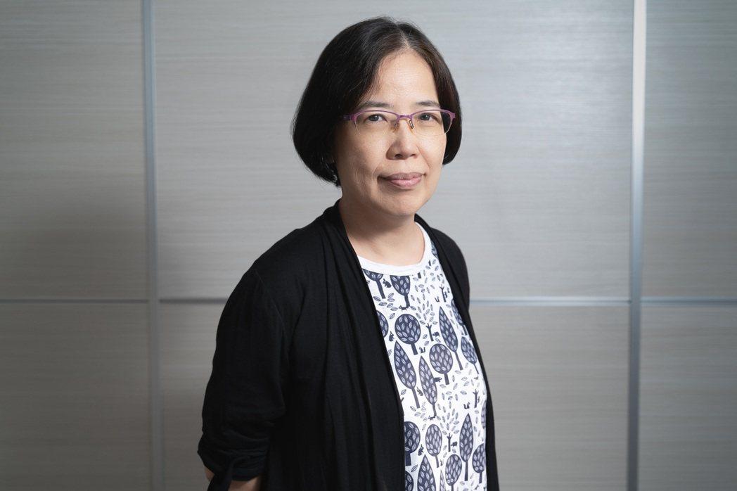 開拓文教基金會執行長蔡淑芳。 圖/李瑞彥攝影