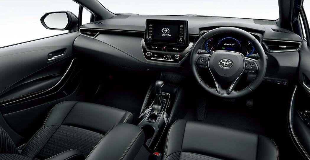 新世代日規Toyota Corolla內裝。 摘自Toyota
