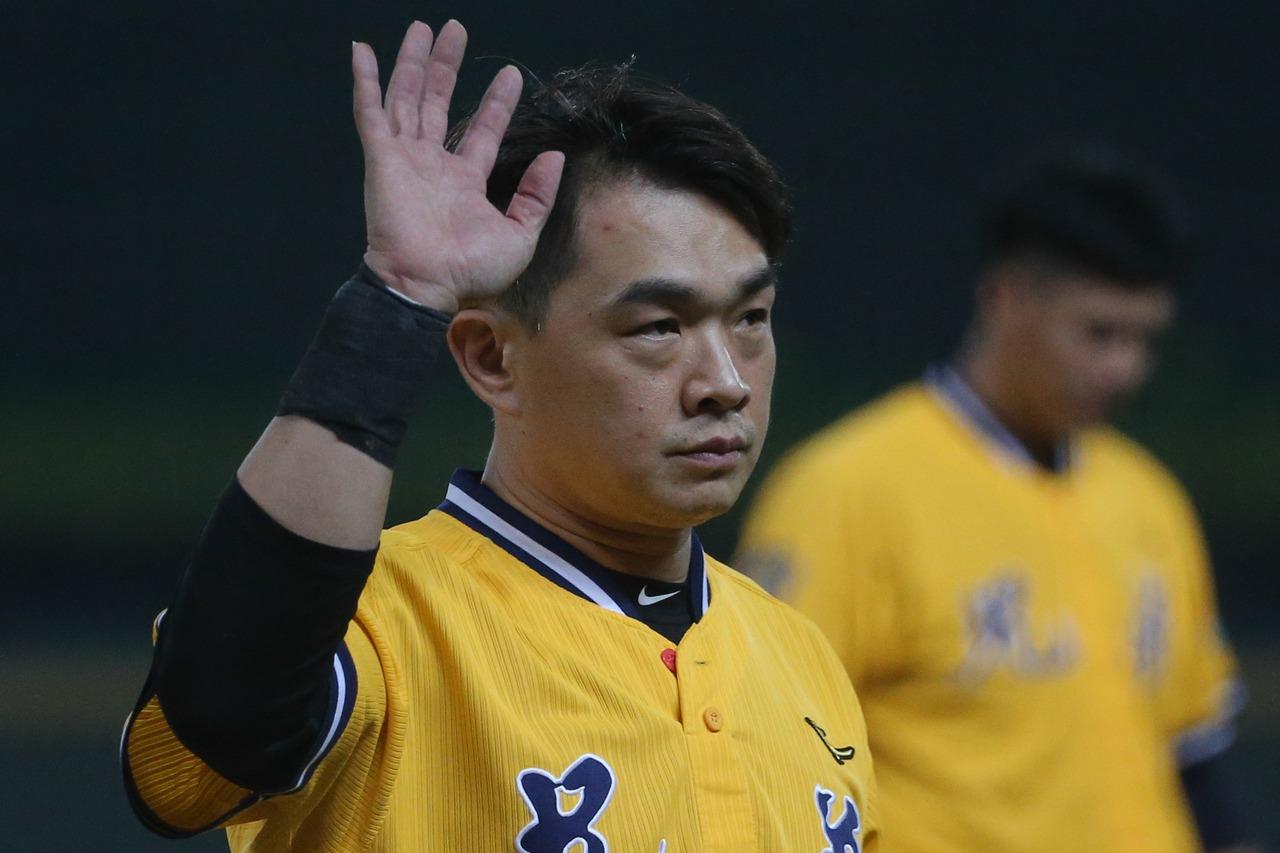 中信球星彭政閔正式結束球員生涯,可惜未能拿下總冠軍。記者黃仲裕/攝影