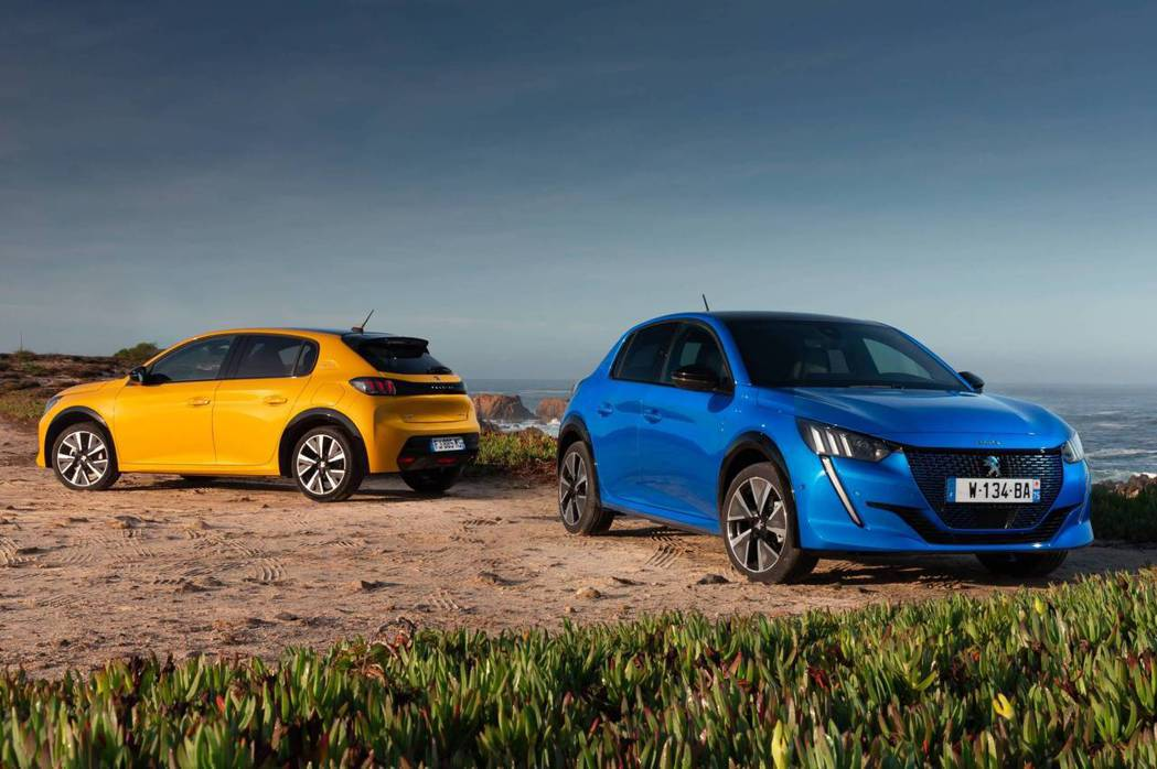 Peugeot e-208在目前接獲的訂單占了約25%。 摘自Peugeot