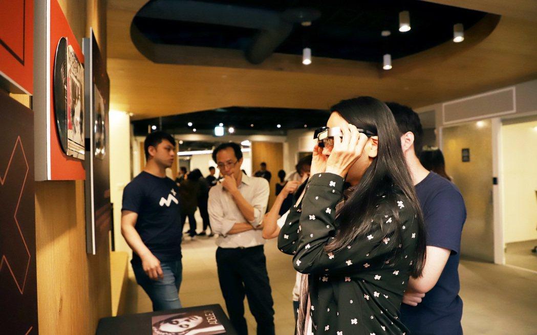 「EXPLORE ARPLANET 2019 AR趨勢論壇」現場體驗展示。 經濟...