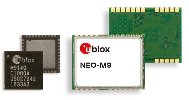 u-blox宣佈推出專為高端要求的汽車、車載資通訊系統和無人機應用所設計的新款超...