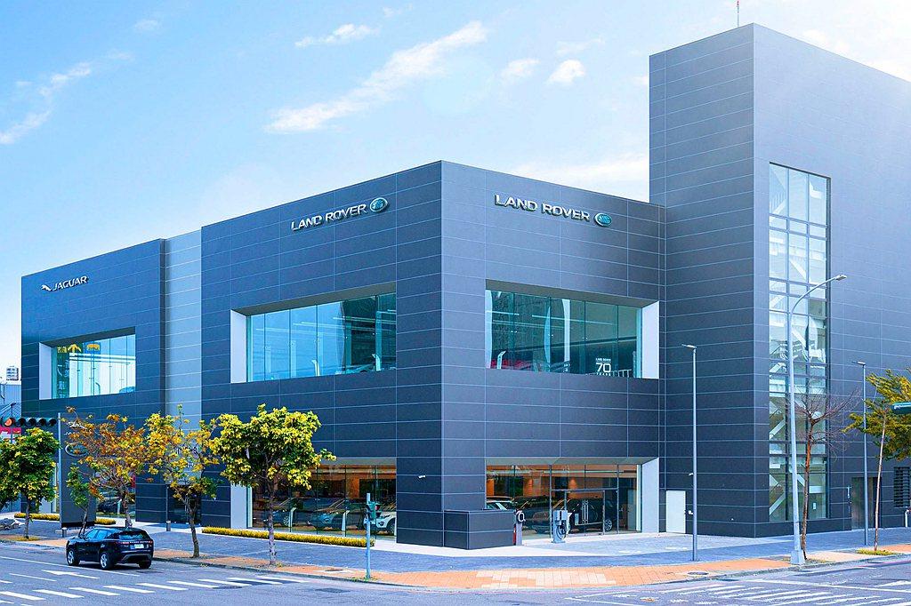 Jaguar Land Rover台中九和旗艦展示暨服務中心正式開幕。 圖/Ja...