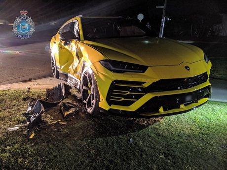 14歲Subaru森林人駕駛撞上藍寶堅尼Urus! 車還是偷來的!