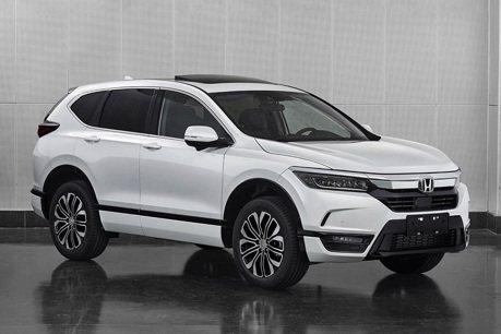 裝上Accord車頭的CR-V? 不,這是中國專屬Honda Breeze休旅車!