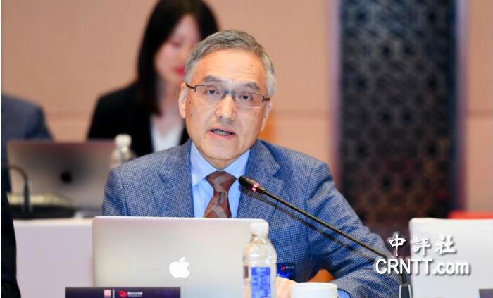 台灣大學政治系教授朱雲漢出席第三屆太和文明論壇。(中評社)