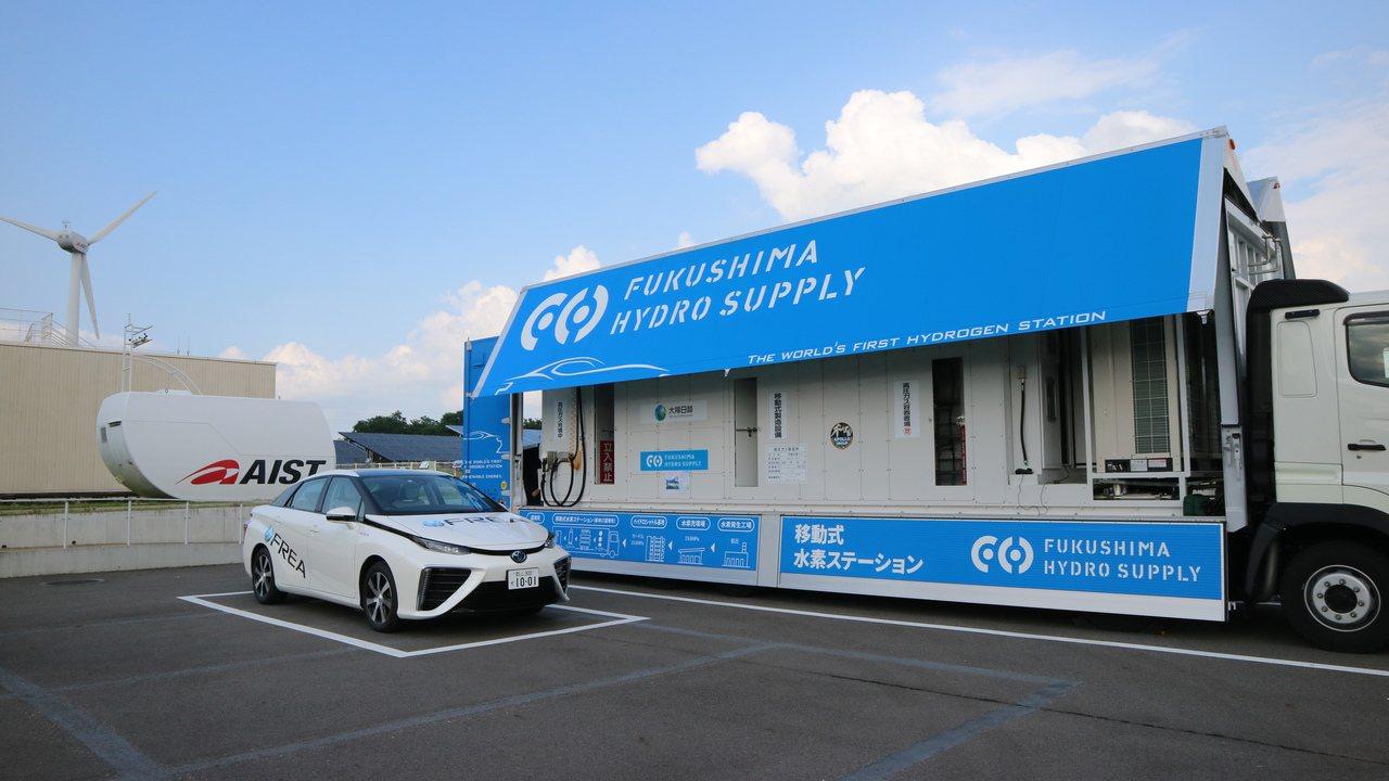氫能系統是目前日本民間企業努力發展的能源新方向。記者蔡佩芳/攝影