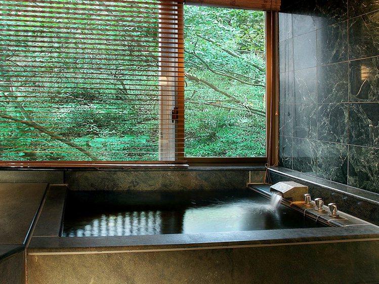日勝生加賀屋國際溫泉飯店,有彷彿身在日本泡湯的情境。圖/易遊網提供