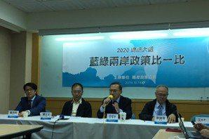 藍綠兩岸政策比一比 學者:韓國瑜陣營論述是舊概念