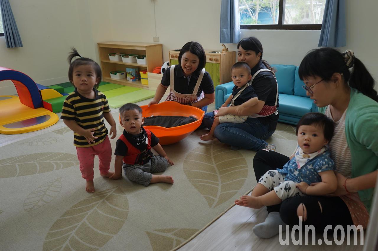 花蓮縣第一座公共托育家園落腳鳳林,目前已收托9名幼兒。記者王燕華/攝影