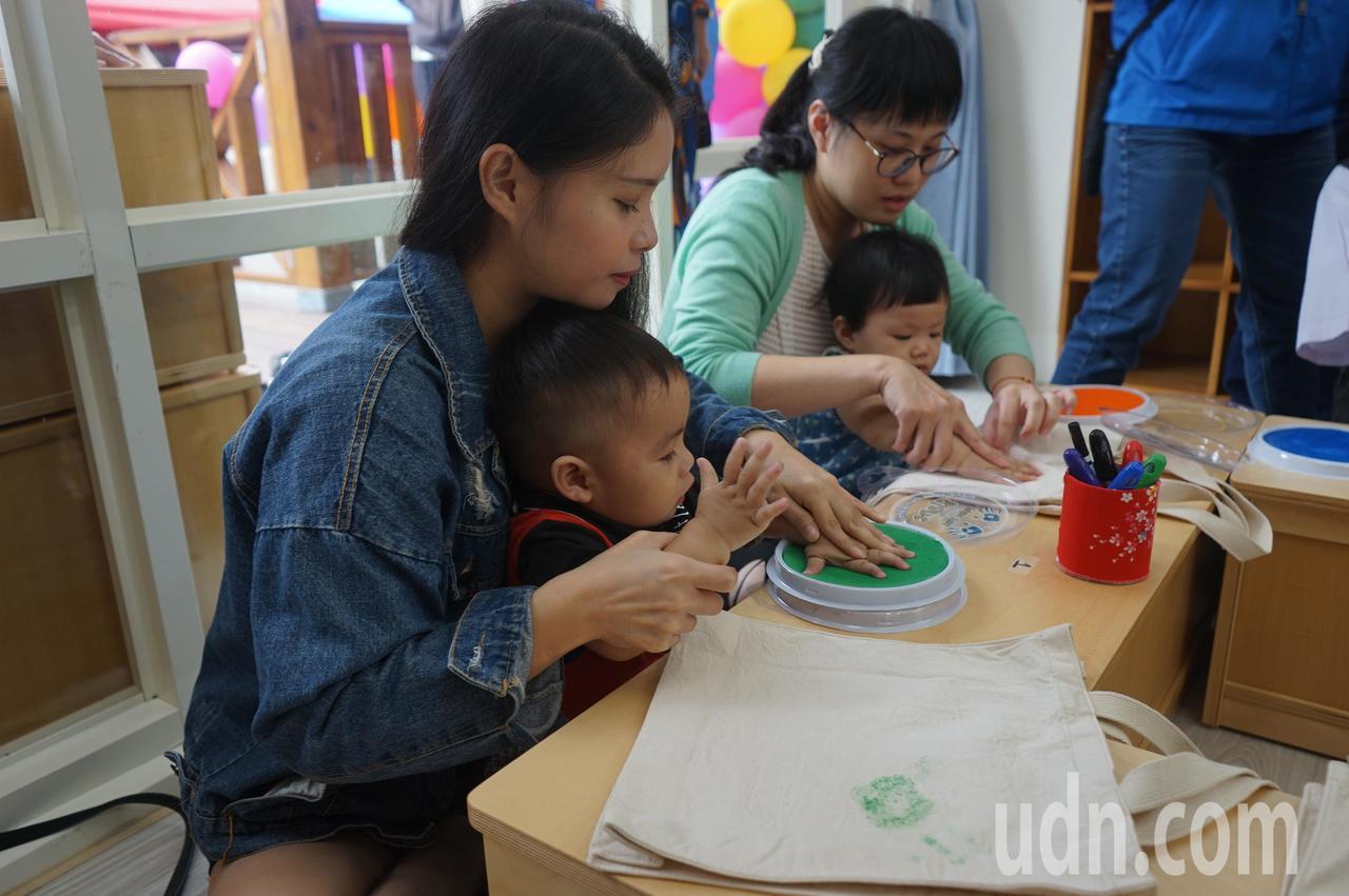花蓮縣第一座公共托育家園落腳鳳林,家長對環境和設備頗為滿意。記者王燕華/攝影