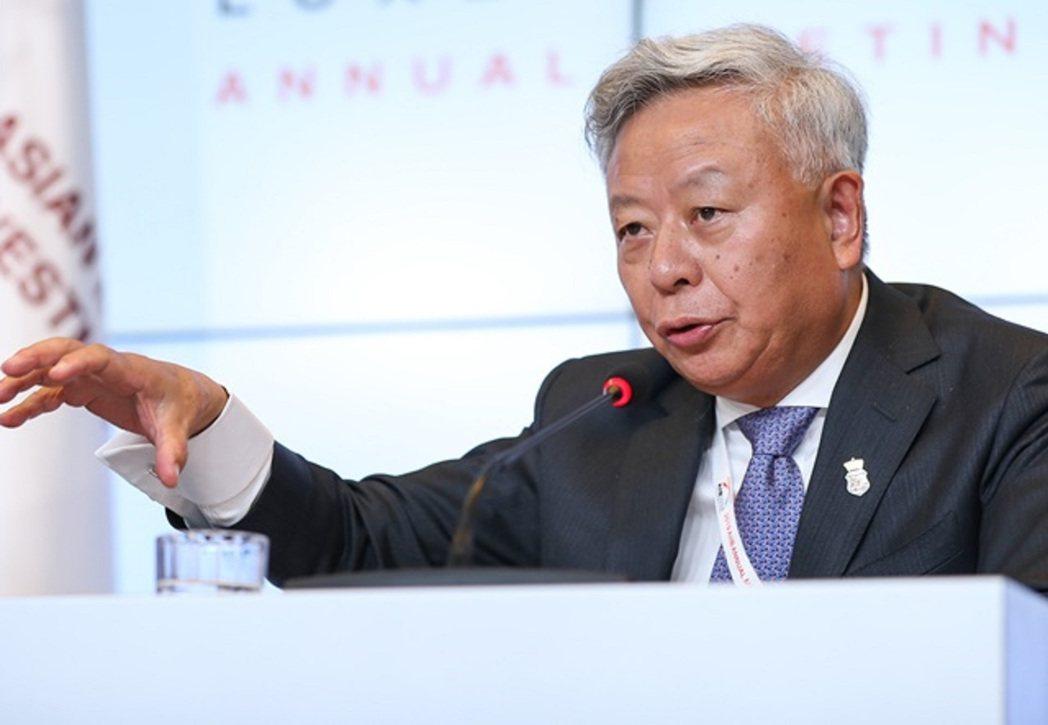 亞洲基礎設施投資銀行(AIIB)行長金立群。圖/香港信報