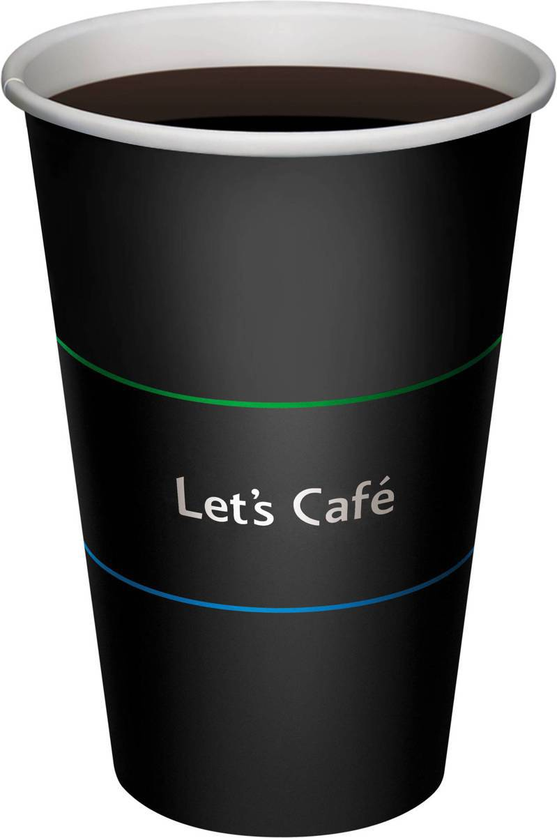 Let's Café大杯熱美式。圖/全家提供