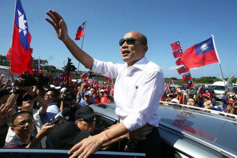 國民黨總統參選人韓國瑜本周末將到台南造勢。圖/本報資料照片