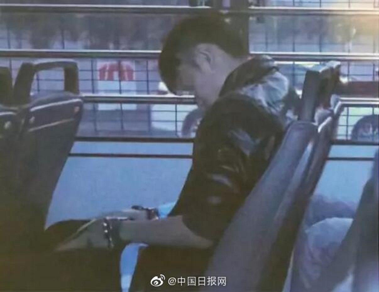 觸發港府修訂「逃犯條例」的港女命案疑犯陳同佳。圖/中國日報官微