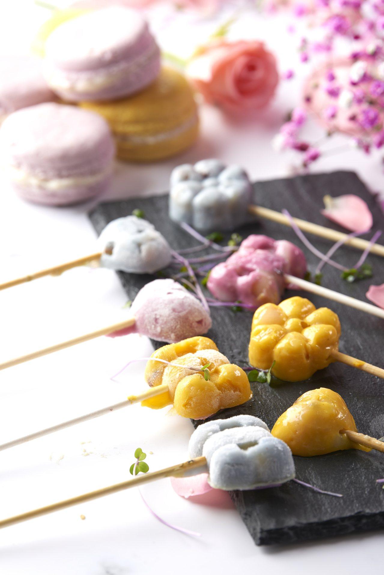 饗鮮在上半年推出「滑漿棒棒糖」。圖/饗鮮海陸火鍋提供