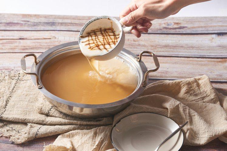 卡布奇諾味噌湯。圖/饗鮮海陸火鍋提供