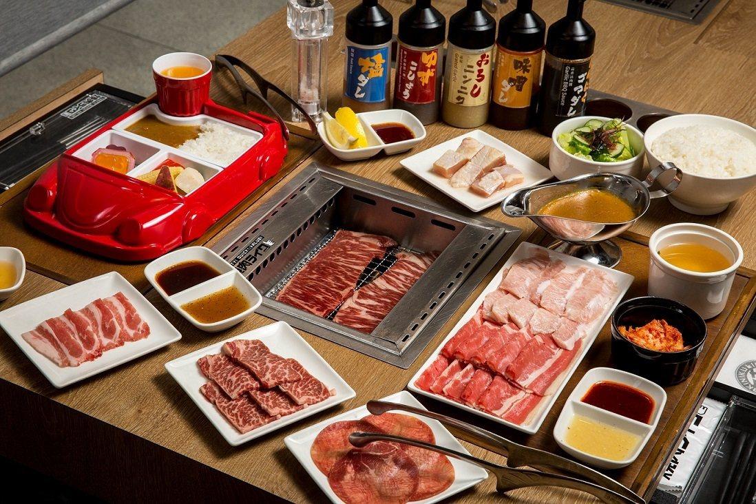 「燒肉LIKE」首度進軍新北市,進駐中和環球B2。圖/環球購物中心提供