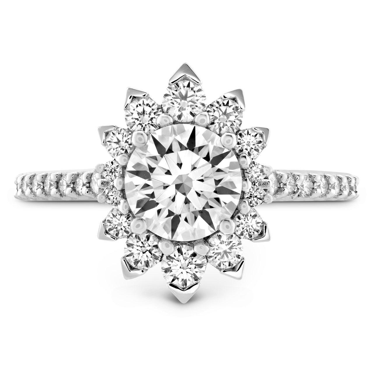 BEHATI SAY IT YOUR WAY戒指,白K金、鑽石與粉紅剛玉,售價1...