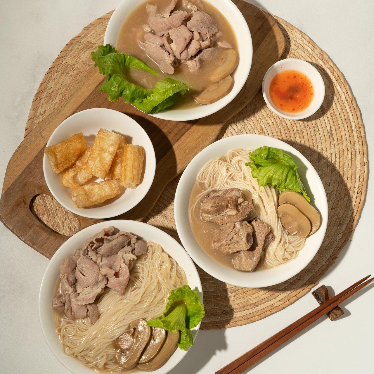 黃亞細新推出鮮灼肉片湯、鮮灼肉片湯麵線、經典肉骨湯麵線等新品,單品160~255...