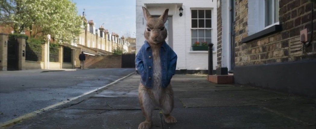 「比得兔兔」將在明年春假上映。圖/翻攝自YouTube