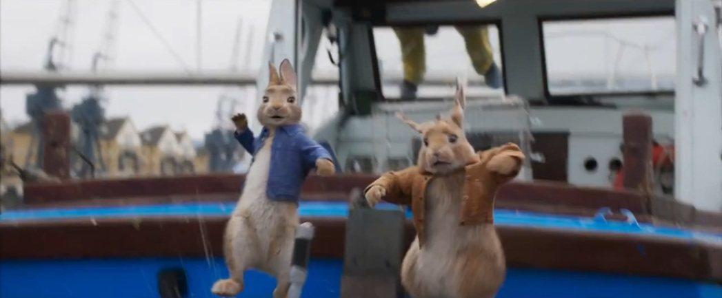 比得兔在「比得兔兔」中又有新的冒險。圖/翻攝自YouTube