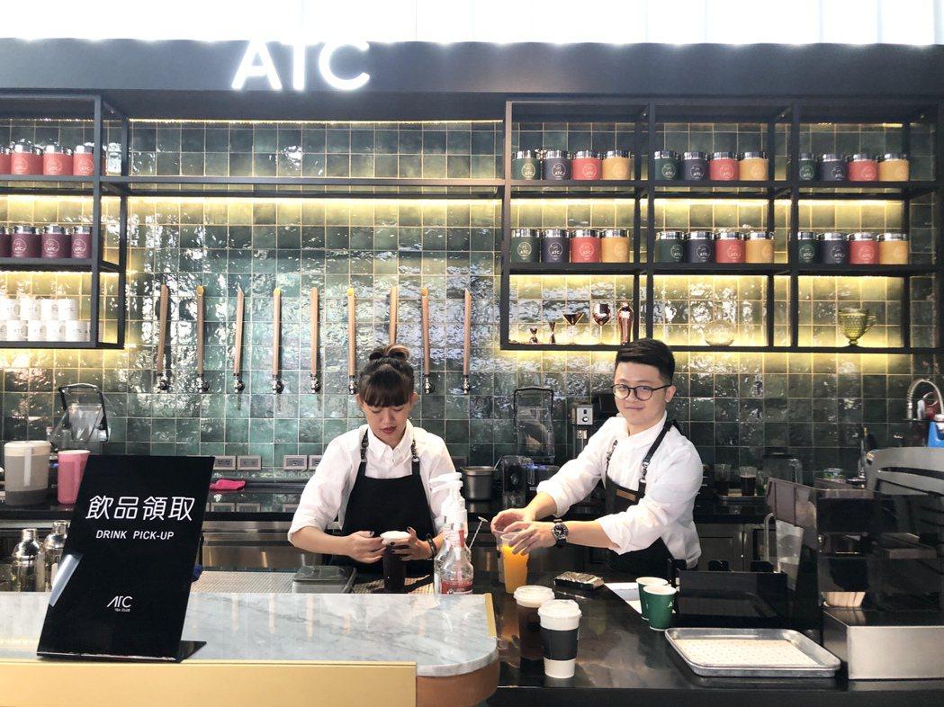 標榜中西合併的「ATC Tea Club茶飲俱樂部」,經過一年的精心規劃,今日進...
