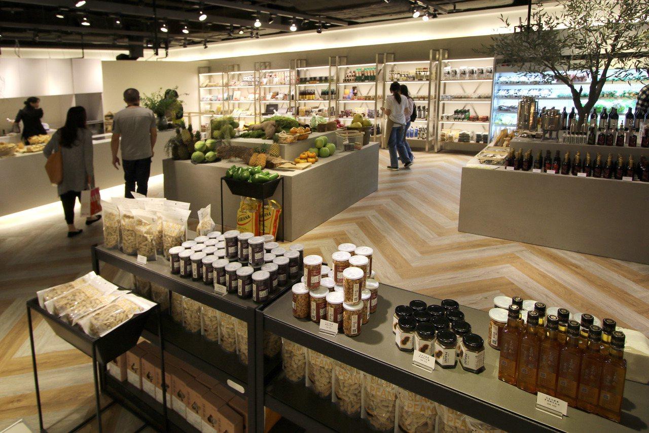 士東市場蔬食料理名店 「食穗」首度拓點百貨,進駐新光三越A4。圖/新光三越提供