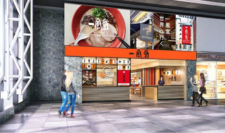 一風堂台中高鐵店將於10月21日開幕。圖/一風堂提供