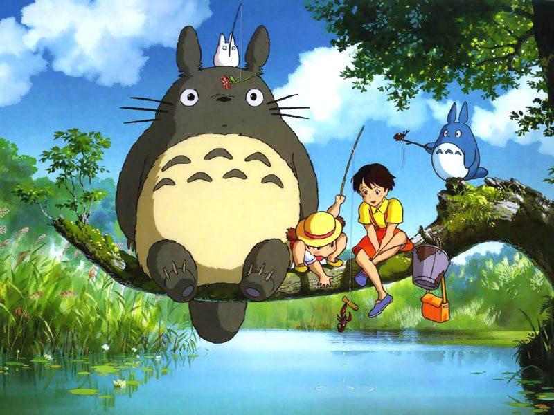 「龍貓」讓宮崎駿作品紅遍全世界。圖/摘自imdb