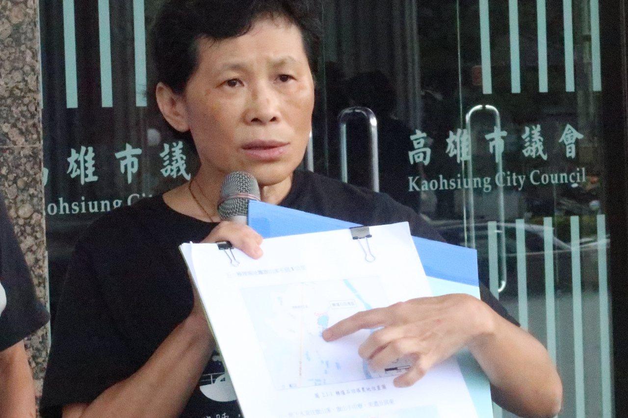 台灣水資源保育聯盟理事長陳椒華。 記者徐如宜/攝影