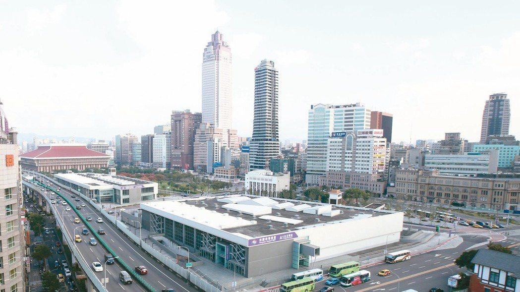 圖為台北雙子星預定地。 記者蘇健忠/攝影