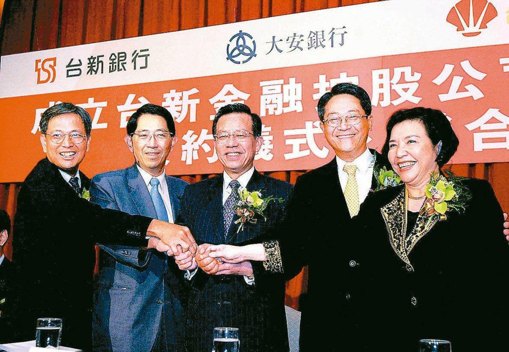 台新銀行併購大安銀行時,台新認定收購成本溢價約37億元應可認列為商譽,結果遭國稅...