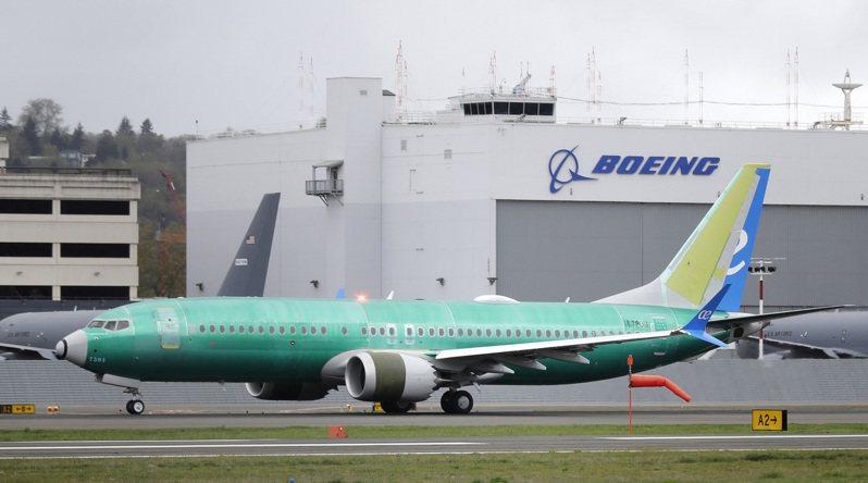 波音737MAX飛機,試飛員早發現問題。圖/世界日報提供