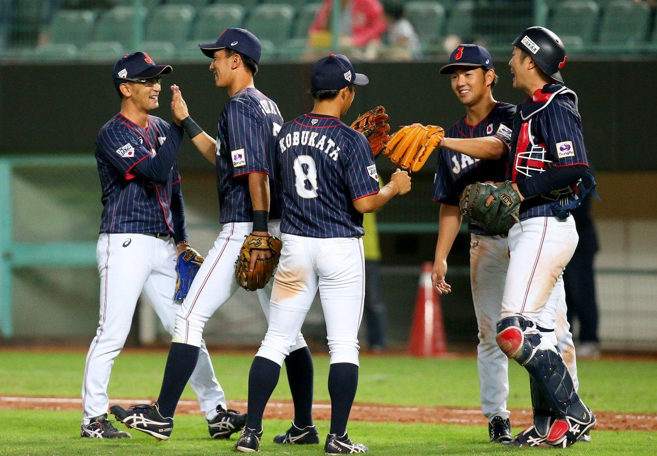 日本隊在亞錦賽以5戰全勝晉級冠軍戰。 報系資料照