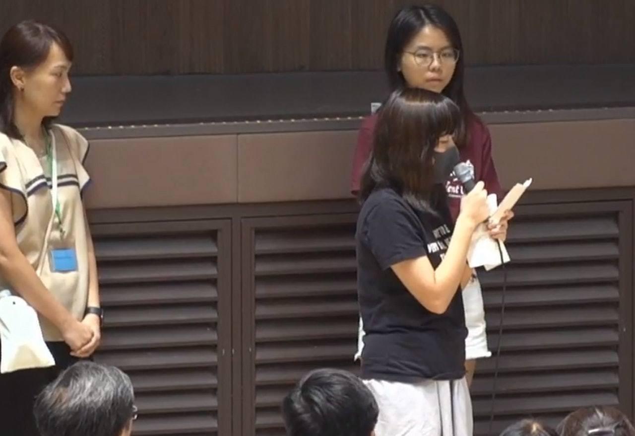 吳傲雪日前挺身而出公開遭受性暴力的事件。 圖/香港01提供