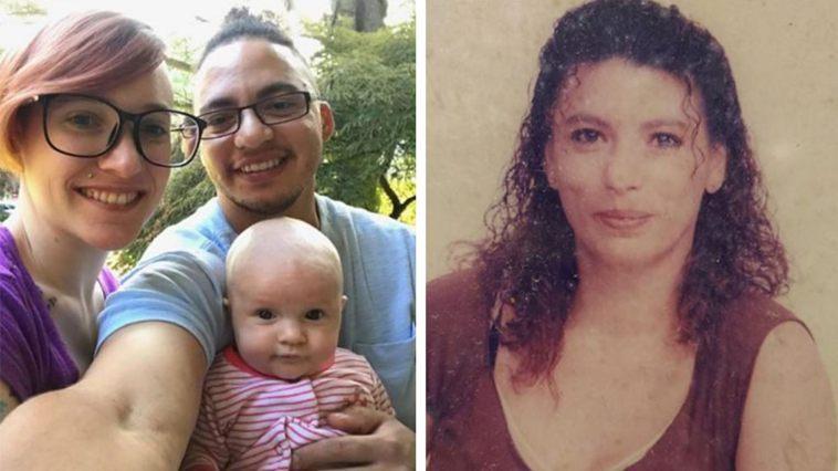 左圖是克莉絲汀和他的家庭,右圖是30年前的堤娜。圖取自FOX News
