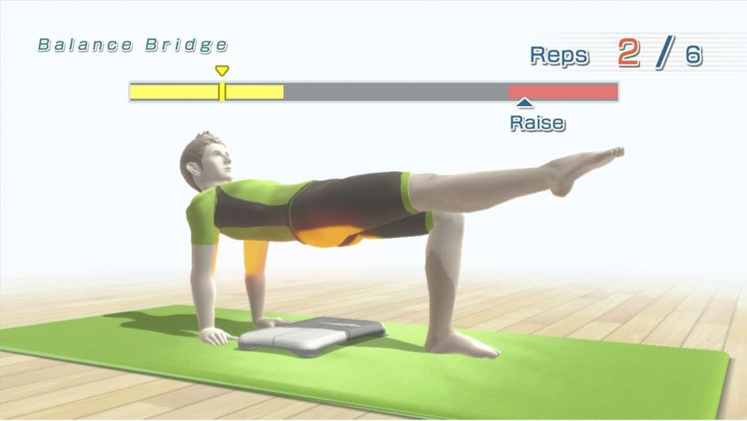 《Wii Fit》遊戲主要分為四項,包括平衡遊戲、肌肉鍛鍊、有氧運動及瑜珈,大家...